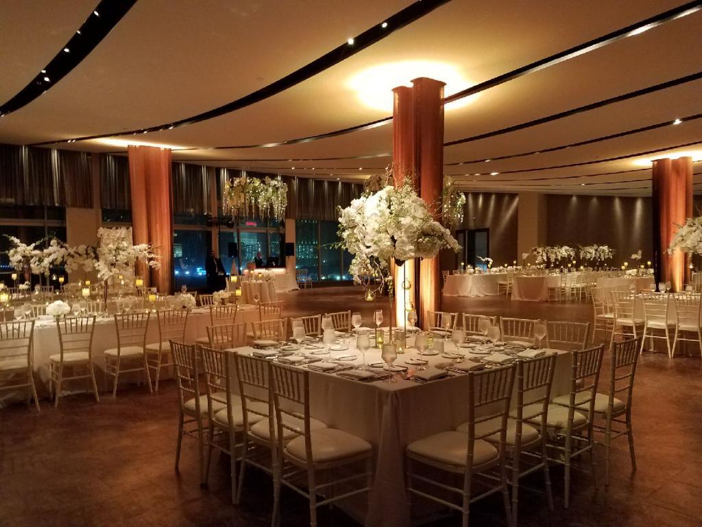 Square   Long Tables - Atlantic Room